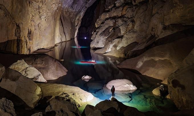 Caving hits record high as Vietnamese tourists seek Covid-19 escape