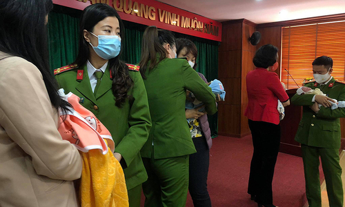 Vietnamese police rescue four newborns from China baby trafficking ring