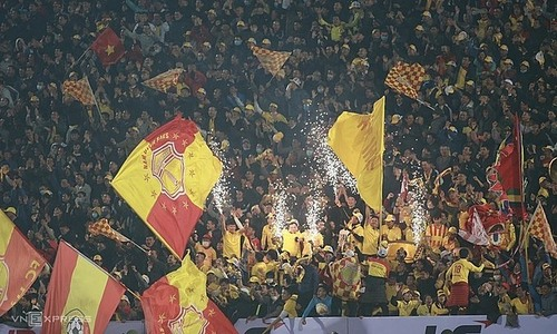 V. League matches to have recorded crowd noise