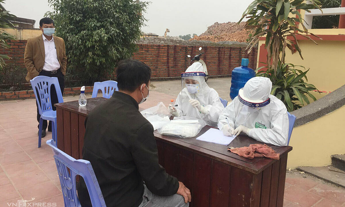 Vietnam's Covid-19 hotspot records 11 more patients – VnExpress International