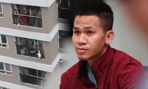 Man catches toddler falling off 12th floor balcony in Hanoi