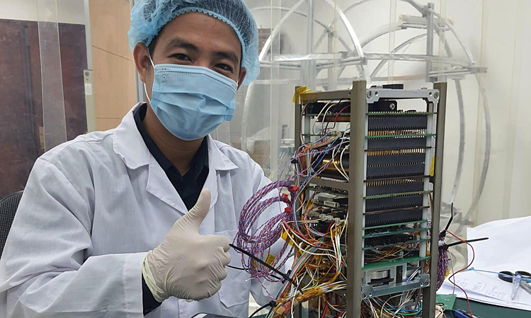 Vietnam's sea observation satellite gets set for launch – VnExpress International