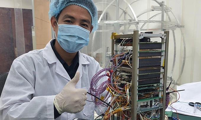 Made-in-Vietnam sea observation satellite gets set for final test