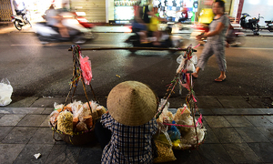 Hanoi's Covid-19 fight leaves street food vendors in the lurch