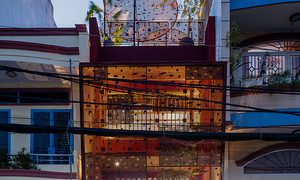 Steel shield, grills add looks, safety to new Saigon house