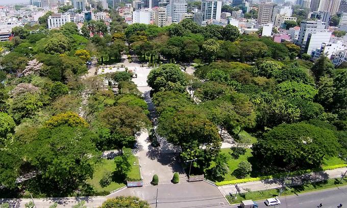 HCMC set to plant half million trees this year