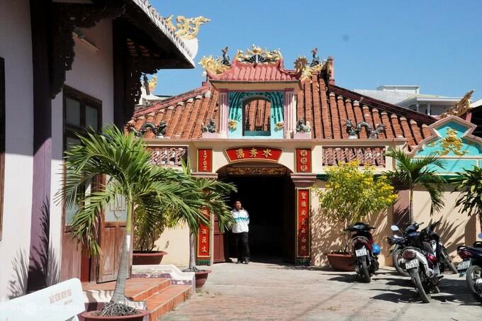 Van Thuy Tu relic temple. Photo by VnExpress/Viet Quoc.