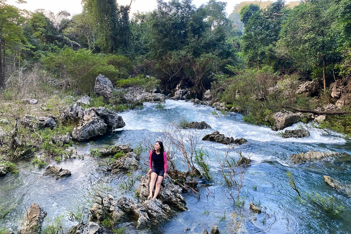 The nature scene in the Chut ethnic people discovery tour. Photo courtesy of Oxalis Holiday.