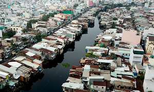 $402-mln upgrade planned for polluted Saigon canal