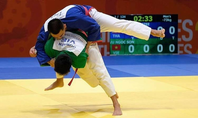 Vietnamese judo and kurash fighters face tough SEA Games challenge