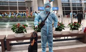 Vietnamese returning with 'vaccine passport' undergoes mandatory quarantine