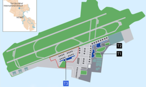 HCMC airport 3rd terminal construction to begin in October