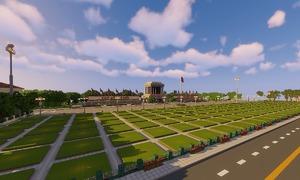 Block by block: gamers create Minecraft versions of Vietnamese landmarks