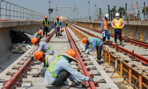 Track installation issues may have caused HCMC metro line faults