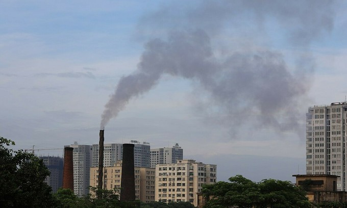 Hanoi air quality improves in pandemic year but still a concern