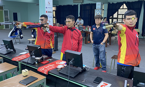 Shooters begin hunting Olympic slots