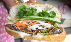 Fishy banh mi delight Saigon foodies