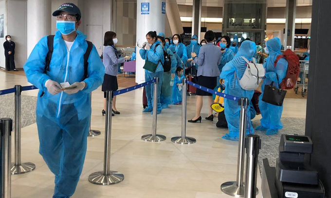 900 Vietnamese from Japan, Thailand to be repatriated