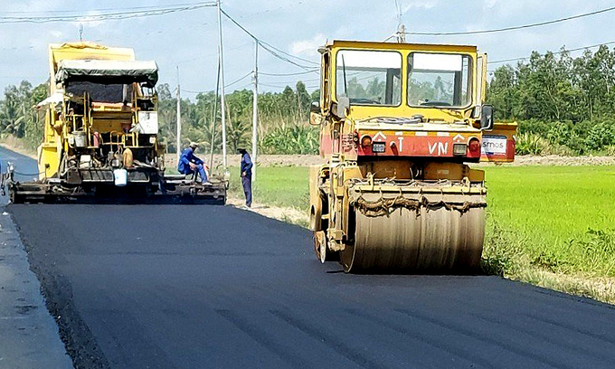 Inter-Mekong Delta route renovation to complete in April