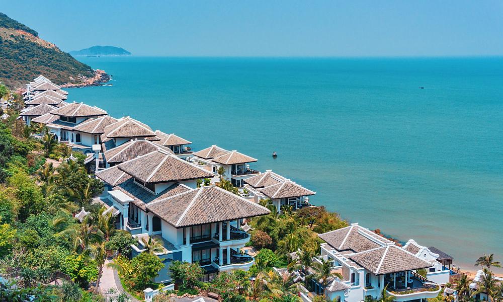 Seashore at InterContinental Danang Sun Peninsula Resort in the central city of Da Nang, Vietnam. Photo by Shutterstock/SenSeHi.