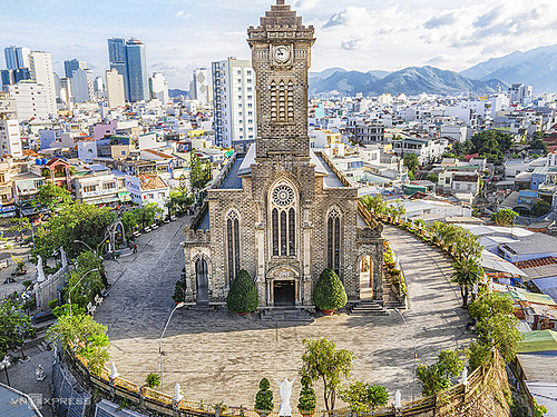 One of the tourist sites that you should not miss in Nha Trang is the stone church