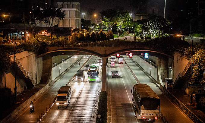 HCMC river tunnel to get $4.1-mln automatic firefighting system