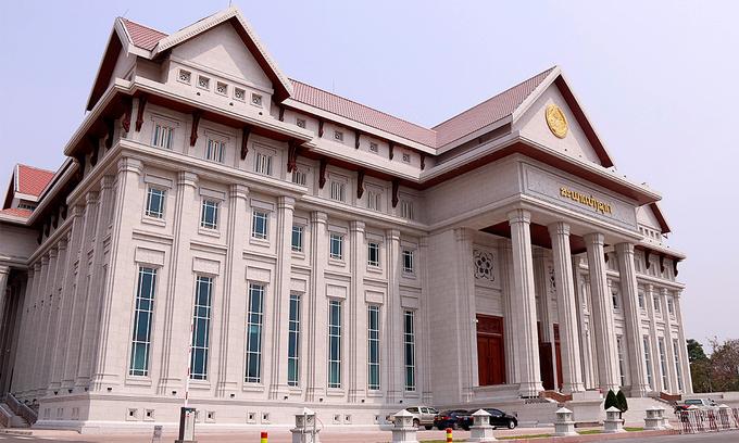 Vietnam gifts Laos its new parliament building