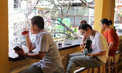 Apartment cafes add charm to Saigon