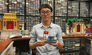Lego collector recreates Vietnam street scenes in miniature