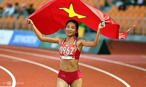 Trials and tribulations of athletics star