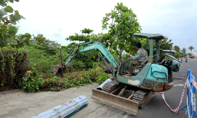 Nha Trang park found guilty of illegal encroachment demolished
