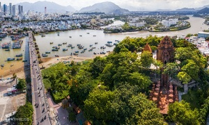 The charm of Nha Trang from the air