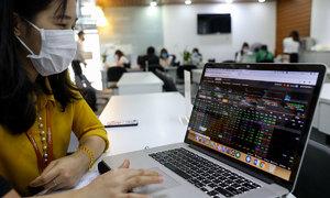 VN-Index pulls back after morning crash