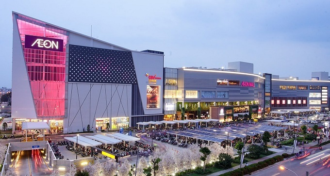 AEON mall in Binh Tan District, Ho Chi Minh City. Photo courtersy of AEON.