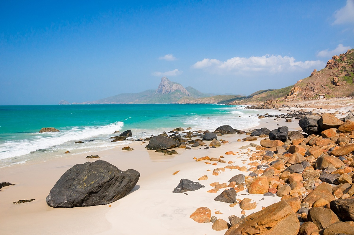 Nhat Beach in Con Dao Island in southern Vietnam. Photo by Shutterstock/Andy Tran.
