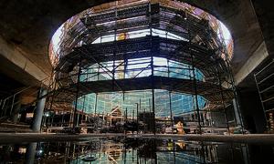 Next to HCMC's Ben Thanh market, metro station takes shape