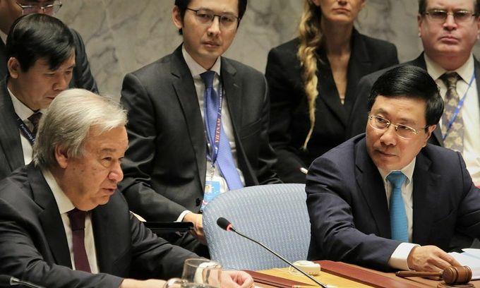 Vietnam assumes UN Security Council presidency