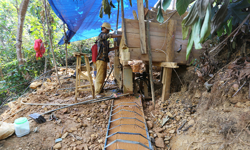 Illegal gold extraction hurts Quang Nam environment