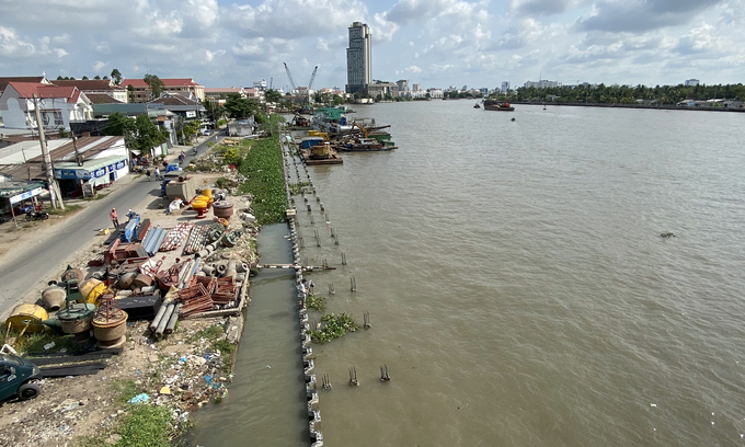 Can Tho flood-prevention work could see $193-mln hike in price tag