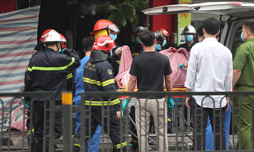 Family of four die in Hanoi house-store fire