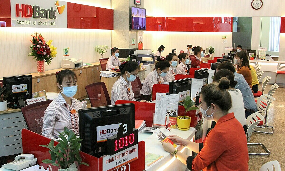An HDBank branch in Ho Chi Minh City. Photo courtesy of HDBank.