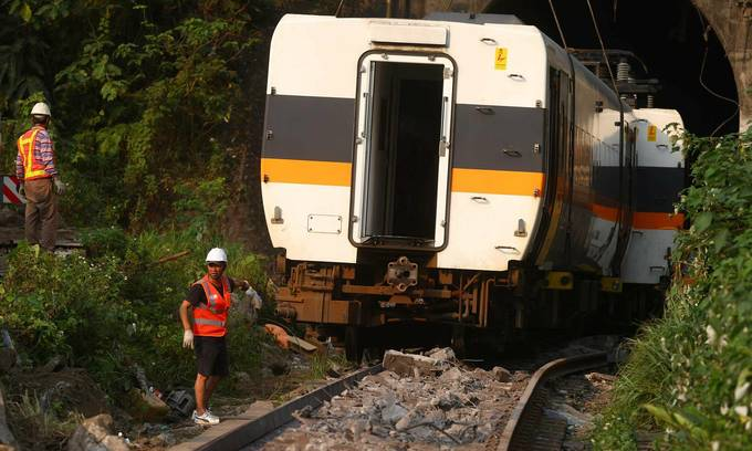 Taiwan arrests Vietnamese man involved in deadly rail tragedy