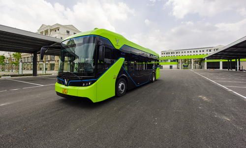 Vietnam's first smart electric bus service launched