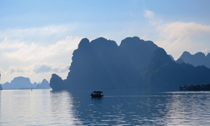 Ha Long gets marked by architectural, natural highlights
