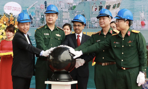 One more high-speed patrol vessel built with Indian assistance launched
