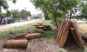 Quang Tri bomb collectors kindle memories of Vietnam War