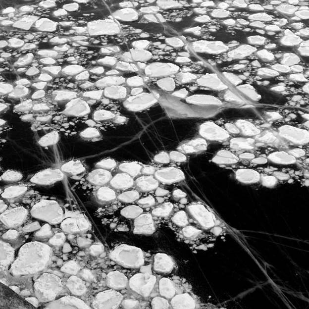 (PR) Baikal-lake landscape in winter black and white fine art  - 6