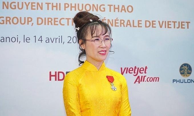 First Vietnamese businesswoman awarded prestigious French honor