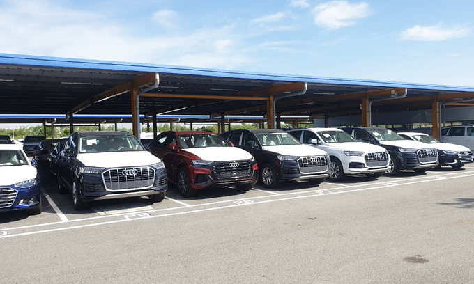 Used automobile import quotas fail to attract interest
