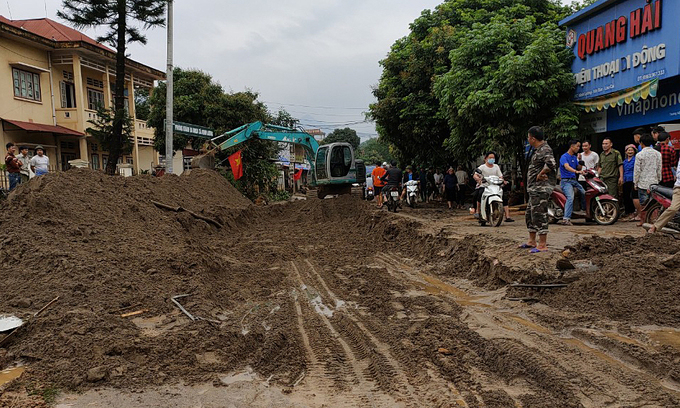 Flash floods kill two in northern mountain province